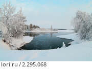 Купить «Зима в Карелии», фото № 2295068, снято 3 января 2011 г. (c) Кекяляйнен Андрей / Фотобанк Лори