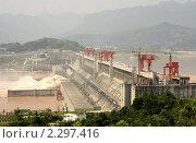Плотина Три Ущелья, Китай (2010 год). Стоковое фото, фотограф Жукова Юлия / Фотобанк Лори