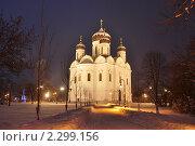 Купить «Собор», фото № 2299156, снято 5 января 2011 г. (c) Александр Кокарев / Фотобанк Лори