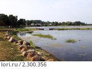Купить «Набережная озера Валдай», фото № 2300356, снято 4 августа 2010 г. (c) Охотникова Екатерина *Фототуристы* / Фотобанк Лори