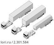 Купить «Набор коммерческих грузовиков», иллюстрация № 2301584 (c) Александр Володин / Фотобанк Лори