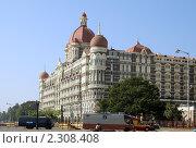 Купить «Красивое здание в Мумбае (Бомбее), Индия», фото № 2308408, снято 7 декабря 2010 г. (c) Вера Тропынина / Фотобанк Лори