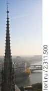 Купить «Вид на Париж.  Франция.», фото № 2311500, снято 21 октября 2010 г. (c) Николай Коржов / Фотобанк Лори