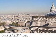 Купить «Вид на Париж с собора Нотр дам де Пари (Notre dame de Paris). Франция», фото № 2311520, снято 21 октября 2010 г. (c) Николай Коржов / Фотобанк Лори