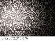 Купить «Черно-белые обои», фото № 2315076, снято 1 октября 2009 г. (c) Losevsky Pavel / Фотобанк Лори