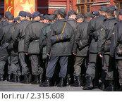 Купить «Милиционеры на Манежной площади, Москва», эксклюзивное фото № 2315608, снято 27 апреля 2010 г. (c) lana1501 / Фотобанк Лори