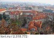 Вид на Прагу со стены Карлова града (2009 год). Стоковое фото, фотограф Хорьков Игорь / Фотобанк Лори