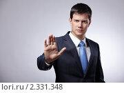 Купить «Портрет молодого бизнесмена», фото № 2331348, снято 27 октября 2010 г. (c) Raev Denis / Фотобанк Лори