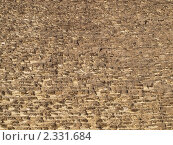 Камни пирамиды Хеопса. Стоковое фото, фотограф Константин Болотин / Фотобанк Лори