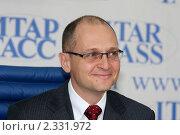 Сергей Кириенко (2011 год). Редакционное фото, фотограф виктор антонов / Фотобанк Лори