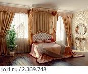Купить «Спальня», иллюстрация № 2339748 (c) Виктор Застольский / Фотобанк Лори