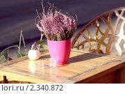 Европейской утро. Стоковое фото, фотограф Анастасия Мельникова / Фотобанк Лори
