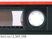 Купить «Магнитофонная кассета», фото № 2341108, снято 6 февраля 2011 г. (c) Игорь Долгов / Фотобанк Лори