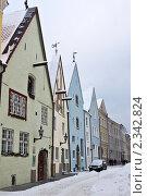 Таллин, Старый Город, улица (2010 год). Редакционное фото, фотограф Алексей Измайлов / Фотобанк Лори