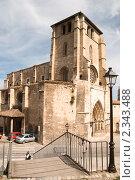 Купить «Церковь Иглесия-де-Сан-Эстебан», фото № 2343488, снято 27 июня 2009 г. (c) Elena Monakhova / Фотобанк Лори