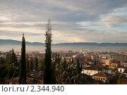 Гранада утром (2011 год). Стоковое фото, фотограф Svetlana Yudina / Фотобанк Лори