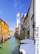 Купить «Венеция. Небольшие улочки. Италия», фото № 2346060, снято 23 августа 2010 г. (c) Vitas / Фотобанк Лори