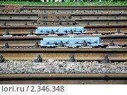 Купить «Рельсы», эксклюзивное фото № 2346348, снято 13 июля 2010 г. (c) Алёшина Оксана / Фотобанк Лори