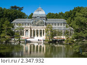 Паласьо-де-Кристаль в парке Буэн-Ретиро в Мадриде (2009 год). Стоковое фото, фотограф Elena Monakhova / Фотобанк Лори