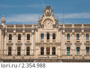 Купить «Фрагмент здания городского совета Сантандера», фото № 2354988, снято 28 июня 2009 г. (c) Elena Monakhova / Фотобанк Лори