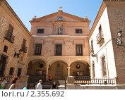 Иглесия-де-Сан-Хинес - одна из самых старых церквей Мадрида (2009 год). Редакционное фото, фотограф Elena Monakhova / Фотобанк Лори