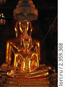 Бангкок. Будды (2011 год). Стоковое фото, фотограф Валентина Качалова / Фотобанк Лори