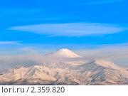 Вулкан (2011 год). Стоковое фото, фотограф Ольга Зайцева / Фотобанк Лори
