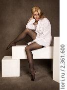Купить «Портрет сексуальной девушки», фото № 2361600, снято 10 января 2011 г. (c) Okssi / Фотобанк Лори