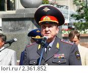 Министр МВД Бурятии В.Л.Сюсюра (2008 год). Редакционное фото, фотограф Дина Мальцева / Фотобанк Лори
