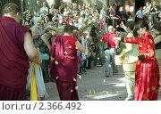 Купить «Открытие тура буддийских реликвий в дацане Гунзэчойнэй. Санкт-Петербург», эксклюзивное фото № 2366492, снято 16 октября 2019 г. (c) Румянцева Наталия / Фотобанк Лори