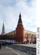 Купить «Москва. Вид на Кремль», эксклюзивное фото № 2366896, снято 19 февраля 2011 г. (c) lana1501 / Фотобанк Лори