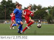 Купить «Футбол», фото № 2375932, снято 20 августа 2010 г. (c) Ольга Дмитриева / Фотобанк Лори