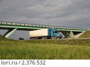 Грузовой автомобиль на дороге. Стоковое фото, фотограф Голованов Сергей / Фотобанк Лори