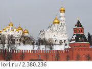 Купить «Кремль зимой», фото № 2380236, снято 24 февраля 2011 г. (c) Валерия Попова / Фотобанк Лори