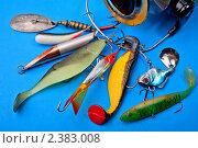 Набор рыбака. Стоковое фото, фотограф Виктор Березин / Фотобанк Лори