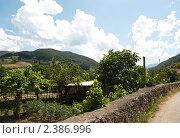 Купить «Сельский вид Северной Испании», фото № 2386996, снято 1 июля 2009 г. (c) Elena Monakhova / Фотобанк Лори