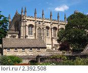 Архитектура Оксфорда (2010 год). Стоковое фото, фотограф Andrei Prokofjev / Фотобанк Лори