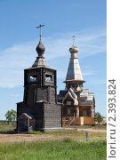 Купить «Храмы посёлка Варзуга», фото № 2393824, снято 7 июля 2010 г. (c) Михаил Иванов / Фотобанк Лори