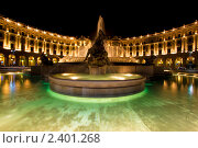Купить «Площадь в Риме в ночное время», фото № 2401268, снято 21 сентября 2008 г. (c) Кирилл Греков / Фотобанк Лори
