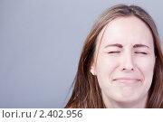 Купить «Девушка плачет», фото № 2402956, снято 16 декабря 2018 г. (c) Юлия Колтырина / Фотобанк Лори