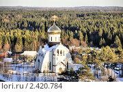 Купить «Князь-Владимирский собор, г.Удомля», фото № 2420784, снято 12 марта 2011 г. (c) Оксана Синникова / Фотобанк Лори