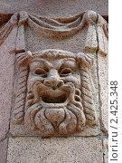 Купить «Декоративный элемент  на  сталинской высотке на Баррикадной», фото № 2425348, снято 16 сентября 2005 г. (c) Юлий Шик / Фотобанк Лори