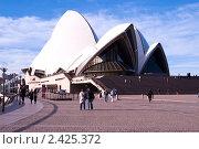 Купить «Сиднейский оперный театр», фото № 2425372, снято 17 августа 2010 г. (c) Elena Monakhova / Фотобанк Лори