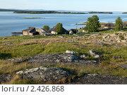 Купить «Вид на деревню Ковда. Карелия.», фото № 2426868, снято 13 июля 2010 г. (c) Михаил Иванов / Фотобанк Лори