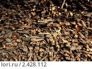 Дрова. Стоковое фото, фотограф Фёдор Мордаков / Фотобанк Лори