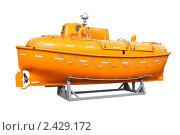 Купить «Спасательный бот», фото № 2429172, снято 15 сентября 2008 г. (c) Parmenov Pavel / Фотобанк Лори