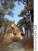 Купить «Домик в сосновом бору», эксклюзивное фото № 2431724, снято 27 марта 2011 г. (c) Svet / Фотобанк Лори