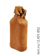 Купить «Бутылка с кожаным покрытием», фото № 2431852, снято 1 марта 2010 г. (c) Игорь Соколов / Фотобанк Лори