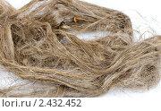 Натуральный лен. Стоковое фото, фотограф Константин Буркин / Фотобанк Лори
