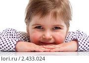 Купить «Портрет пятилетней девочки», фото № 2433024, снято 18 марта 2011 г. (c) Александр Лось / Фотобанк Лори